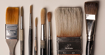Array of brushes